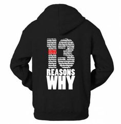 13 reasons why black hoodie for men I care fleece pullover