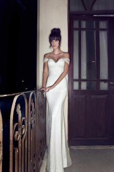 20 of the Sweetest Off-the-Shoulder Wedding Dresses -  Julie Vino