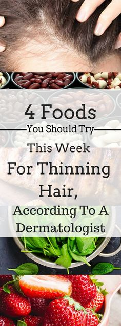4 Foods You Should Try This Week For Thinning Hair, According To A Dermatologist