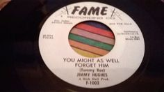 """Northern Soul  R&B  45""""  Jimmy Hugues---You Might As Well Forget Him"""