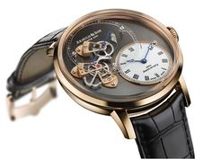 Arnold & Son - DSTB - power reserve 50 h, 28,800 vibrations/h