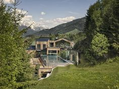 Forsthofgut Hotel & Spa Leogang is a luxury boutique hotel with modern design - perfect for families wrapped by the Leogang Mountains. Alpine Hotel, Spa Hotel, Alpine Style, Life Is A Journey, Holiday Destinations, Wonderful Places, Adventure Travel, Places To See, Chalets