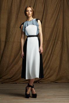 Clor block Dress BCBG Max Azria Pre-Fall 2013 #fashion