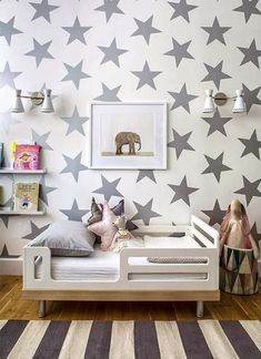 Stars and baby elephant