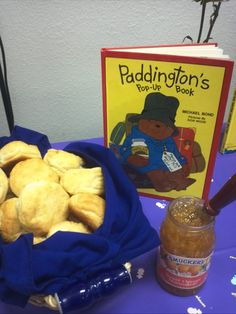 Book Themed Baby Shower - Paddington Bear - Biscuits and Jam