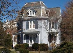 OldHouses.com - 1880 Victorian: Second Empire - Enchanting Second Empire Victorian Home in Woodbury, New Jersey