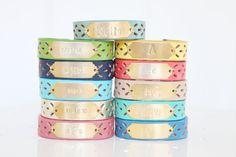 Personalized Bracelet Monogram Bracelet by SweetAuburnStudio