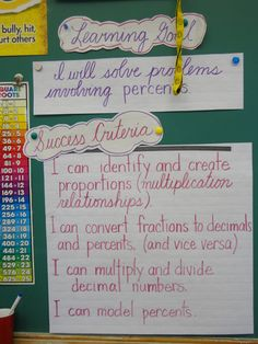have success criteria - checklist for assignments as well - or in beginning of units?