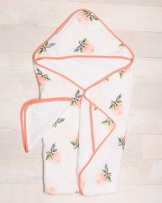 Hooded Towel Set - Watercolor Rose - Pre-order now!