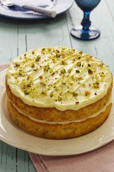 Sweet Cakes, Sweet And Salty, Celebration Cakes, Pistachio, Cake Cookies, Food Styling, Cake Recipes, Bakery, Deserts