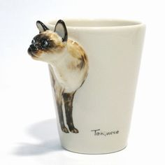 This one that's sticking its neck out there for you: | Community Post: 19 Perfect Mugs For All The Cat Lovers In Your Life