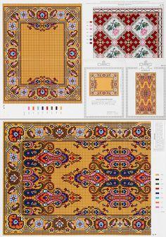Embroidery Patterns, Cross Stitch Patterns, Watercolor Art, Knit Crochet, Bohemian Rug, Pillows, Sewing, Knitting, Rugs