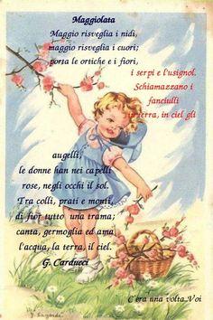 In Natura, Nursery Rhymes, Nostalgia, Baseball Cards, Vintage, Fantasy, Book, Index Cards, Preschool
