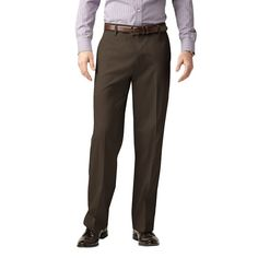 Men's Dockers® Iron-Free Stretch D3 Classic-Fit Flat-Front Pants, Size: