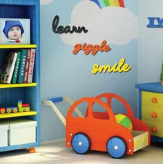 $15 for Wall Decor from Decorative Words.  Super cute for a playroom, kids room, etc!  #sponsored