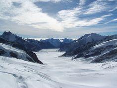 Aletsch Glacier Switzerland Jungfraujoch