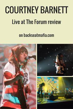ICYMI I reviewed Courtney Barnett at The Forum for Backseat Mafia (inc gallery)  #CourtneyBarnett #TheForum #BackseatMafia #KentishTown #LiveReview #GigReview #Gigs #LiveMusic