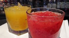 Batida og Plain blood orange Frozen Strawberry Daiquiri, Frozen Strawberries, Gordon Ramsay, Blood Orange, Cold Drinks, Milkshake, Punch Bowls, Cocktails, Juice
