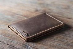 passport leather travel wallet