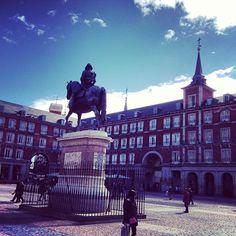 Plaza Mayor en Madrid, Madrid
