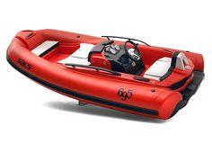 "the ""Sacs-Abarth 695 Tributo Ferrari"" Sports Nautiques, Water Sports, Jet Ski, Rigid Inflatable Boat, Ferrari, Rib Boat, Cool Boats, Expedition Vehicle, Outboard Motors"