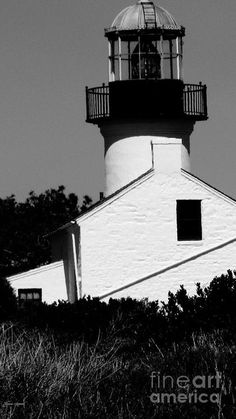 Lighthouse in Monochrome, by Mariecor Agravante, on Fine Art America | FineArtAmerica.com | @writermariecor  @fineartamerica