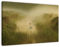 this picture on your wall  http://www.werkaandemuur.nl/index/86/nl/zwanen-in-de-mist/view/16072/0