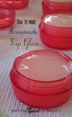 Kool Aid Lip Gloss tutorial