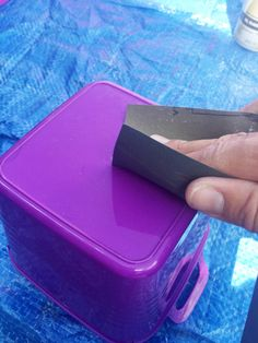 Spray Painting Plastic Bins: Answering Your #1 Question - Lemons, Lavender, & Laundry