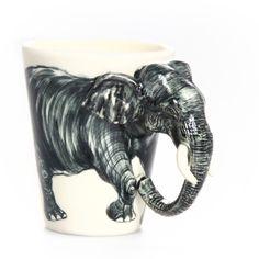 3-D Elephant Mug