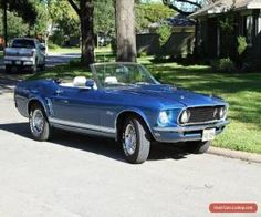 Classic 1969 Ford Mustang GT Convertible for Sale