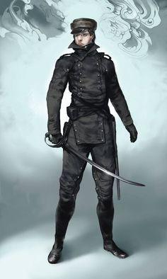 Image result for dieselpunk soldier