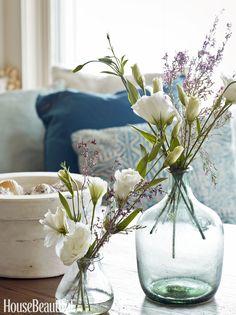 glass jug and vase | Tammy Connor Interior Design