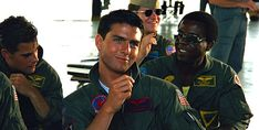 "Tom Cruise as LT Pete ""Maverick"" Mitchell. Top Gun Movie, Kelly Mcgillis, Tony Scott, New Wave Music, Val Kilmer, Acid Wash Jeans, Most Handsome Men, Teenage Years, Tom Cruise"