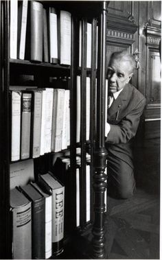 I have always imagined that Paradise will be a kind of library • Jorge Luis Borges, Biblioteca Nacional, 1968.