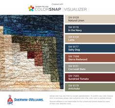 Color Palette That Goes Well With Sherwin Williams Latte 6108 Google Search Color Schemes