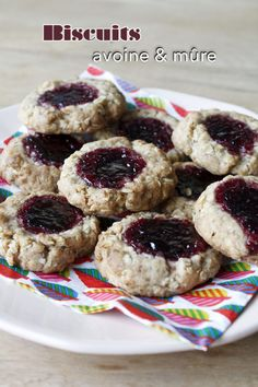 Biscuits avoine mûre – Mes brouillons de cuisine