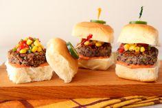Best Quinoa Recipe Ever - Quinoa and Black Bean Burger Sliders | The Daily Dish