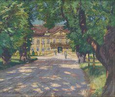 Martin Benka - Zámok v Malackách, 1916-1918