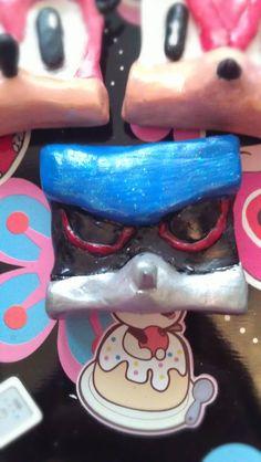 Metal Sonic squareish Magnet by TokyoChan on Etsy, £3.00