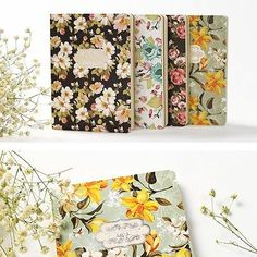 """Blossom Age B6"" 1pc Diary White Blank Sketchbook Planner Journal Notebook Memo"