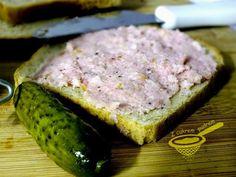 z cukrem pudrem: domowa metka czosnkowa Polish Recipes, Polish Food, Kielbasa, Tuna, Banana Bread, Steak, Fish, Dinner, Cooking
