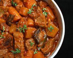 Beef and Beer Veggie Stew