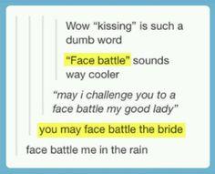Face battle