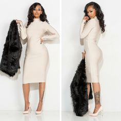 This bodycon dress hugs all of your curves perfectly! Shop the look today www.91vain.storenvy.com