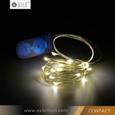 2 meters 20 lights Warm white color Copper Wire LED Micro Fairy String lights