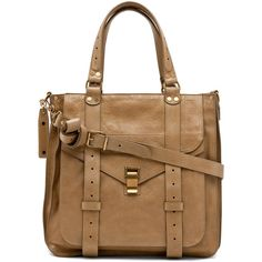 Proenza Schouler PS1 Tote Leather in Bronze