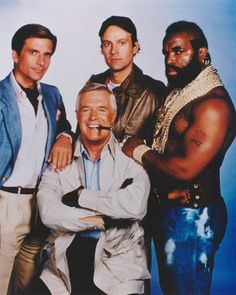 The A-Team. I love this old TV show! Land now :) Best 80s Tv Shows, 80 Tv Shows, Old Shows, Great Tv Shows, Favorite Tv Shows, Pulp Fiction, Tv Sendungen, Tv Vintage, The Blues Brothers