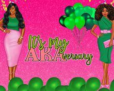 Aka Sorority, Alpha Kappa Alpha Sorority, Pretty Girl Rock, Pretty In Pink, Coiling Natural Hair, Pinky Swear, Cap Ideas, Sorority Outfits, Elephant Figurines