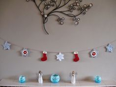 The Summerhouse by the sea: Festive Garland